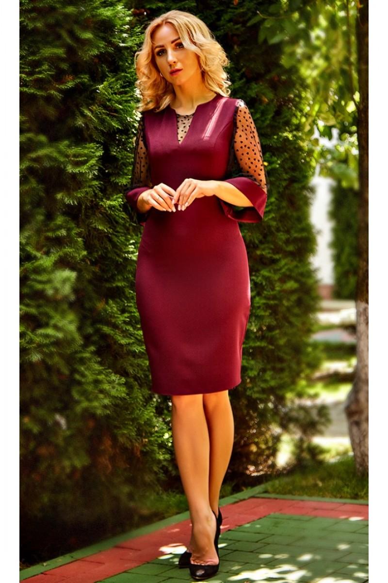 98e4514708fecc Купити плаття від виробника Стелла AD683103 кольору марсала від ...