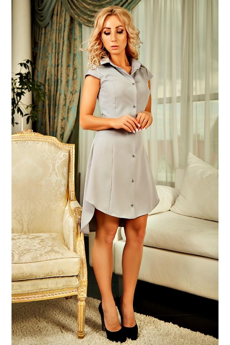 Купити оригінальне плаття Стефанія AD23701 сірого кольору від ... 193f2feb35427