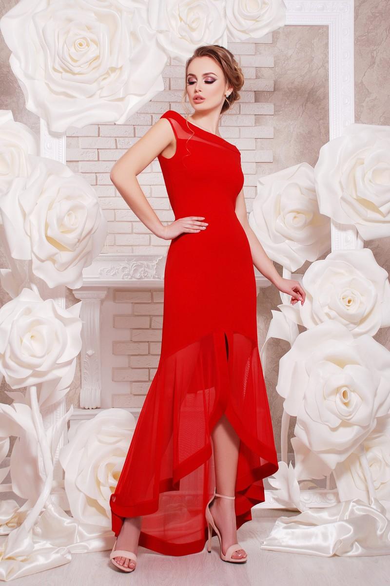 Купити червону сукню на випускний Інгрід GL649001 в підлогу недорого ... 7e1576038b306