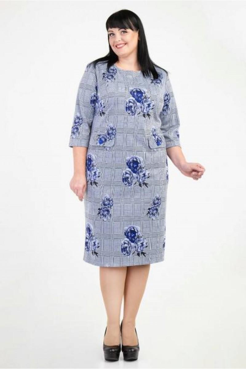 Купити недорого плаття великих розмірів VN36202 бордового кольору ... 0873253c5207e