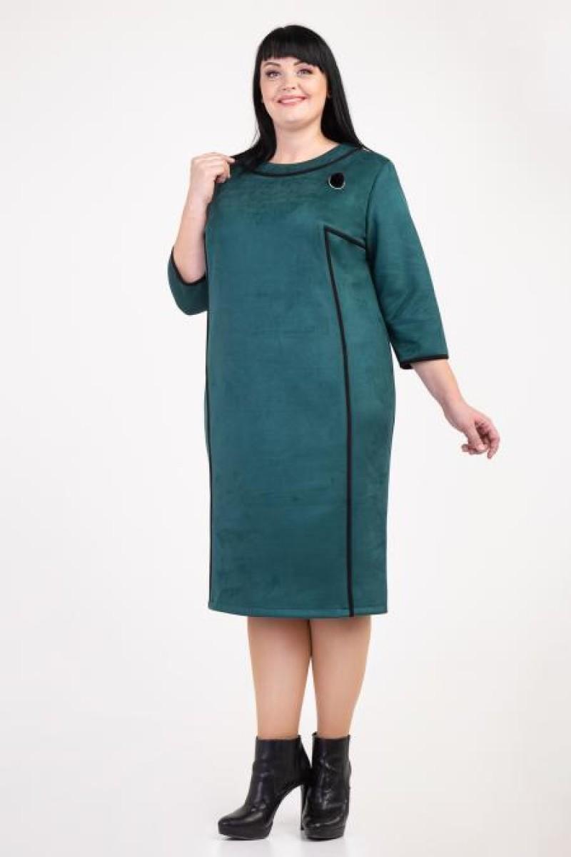 396dc6dd021604 Купити недорого плаття великих розмірів VN36403 зелене від виробника ...