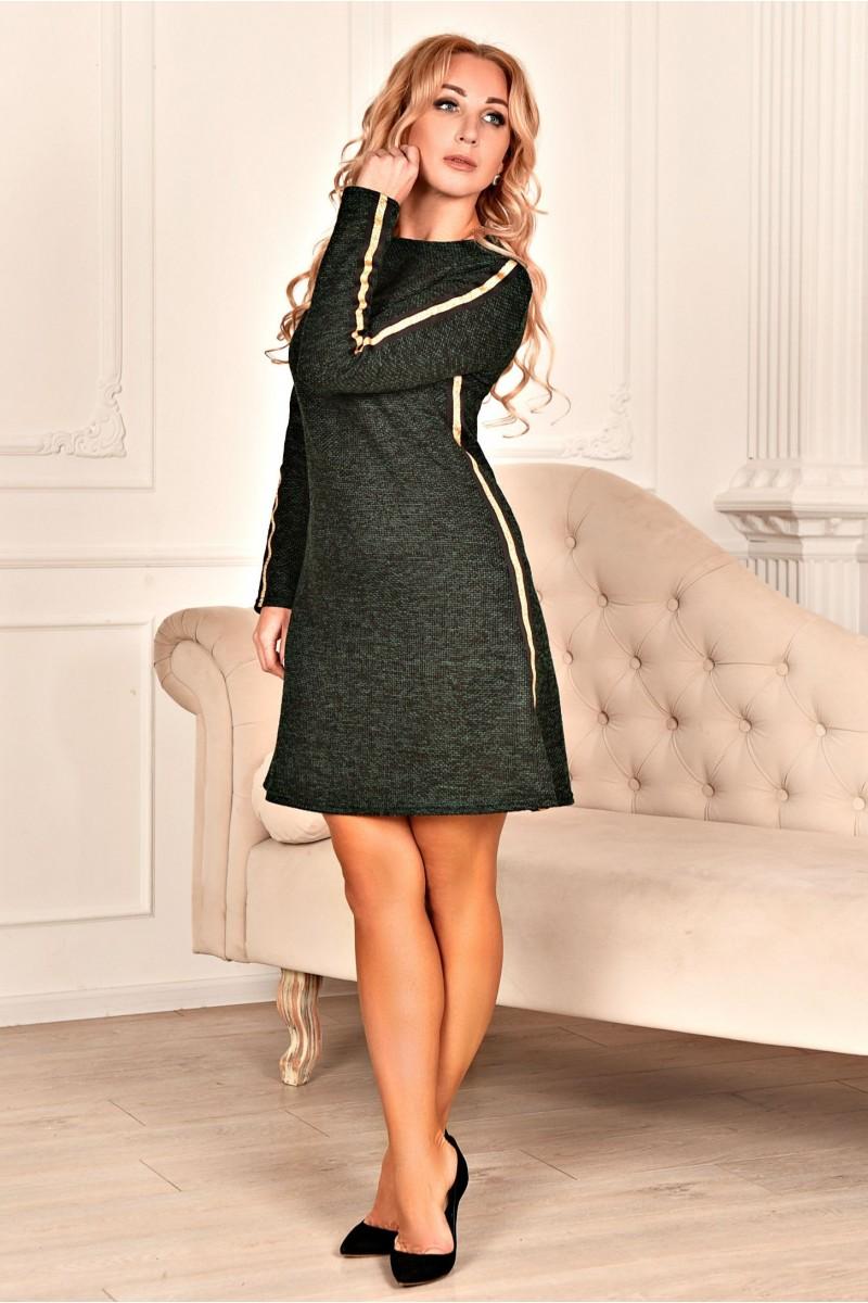 6d6ab11e2f01cac Купить деловое платье AD707401 Керол зеленого цвета недорого от ...