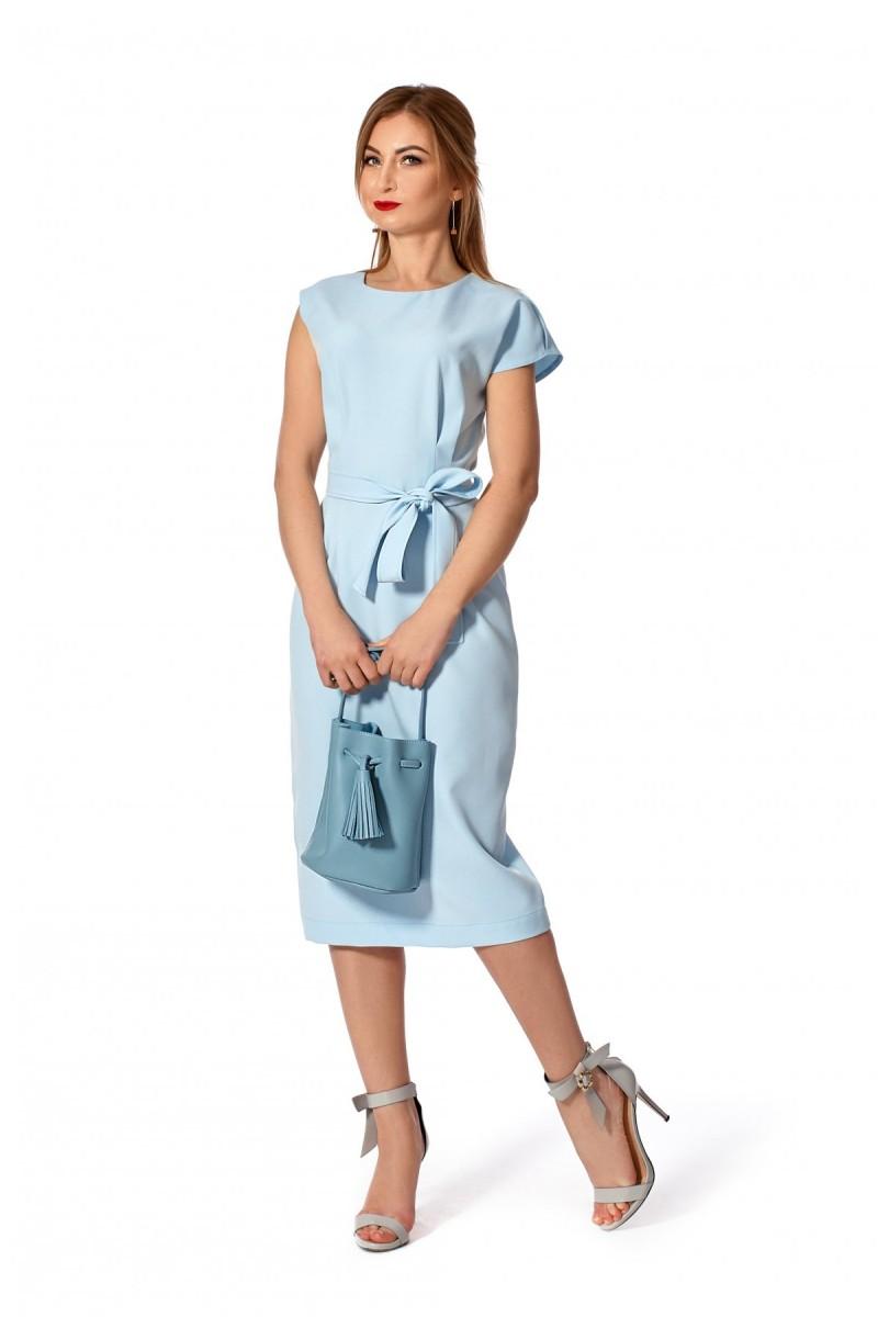 1a16aab2326593 Купити плаття сезону весна 2019 синє SF114501 від виробника з ...