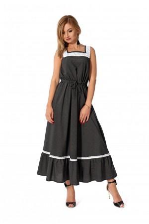 Плаття 2019 чорне   SF115601