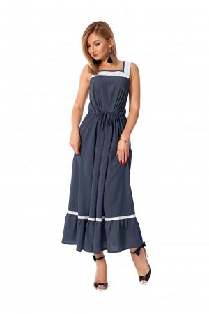 Плаття 2019 синє  SF115602