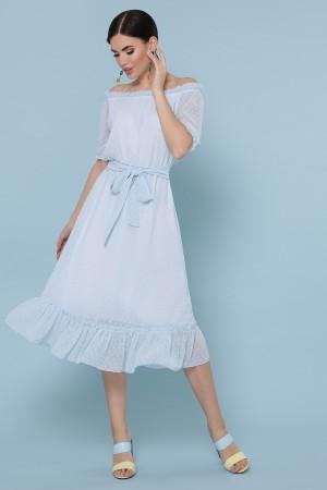 Сукня Устинья к/р GL49335 колір блакитний