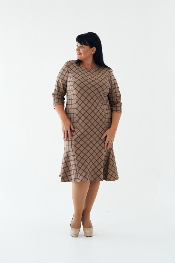 Плаття М446-02 Флоренс кавовий