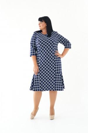 Плаття М446-01 Флоренс синій