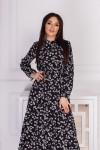 Сукня сезону весна 2021 AL85501 чорного кольору