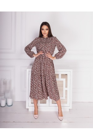 Чарівна весняна сукня  AL85502 капучіно