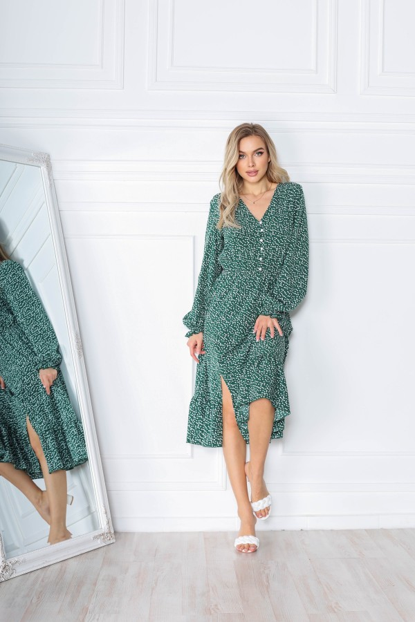 Модна весняна сукня AL85602 зелений