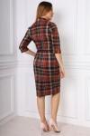 Плаття 18402 коричневий
