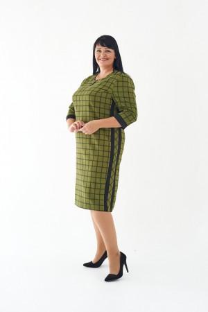 Плаття Лора М449-02 хакі