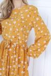 Сукня сезону весна 2021 AL85703 пудрового кольору
