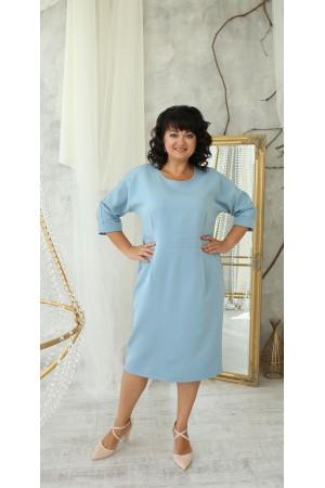 Коктельне плаття 2021 великого розміру LB222203 блакитний