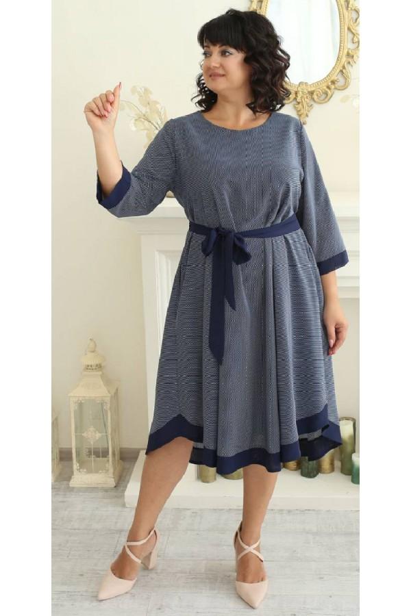 Платье нарядное осень 2021 большого размера LB222301