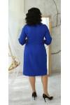 Нарядна сукня великого розміру 2021 LB224103 електрик
