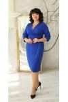 Нарядна сукня великого розміру 2021 LB224101 бордо