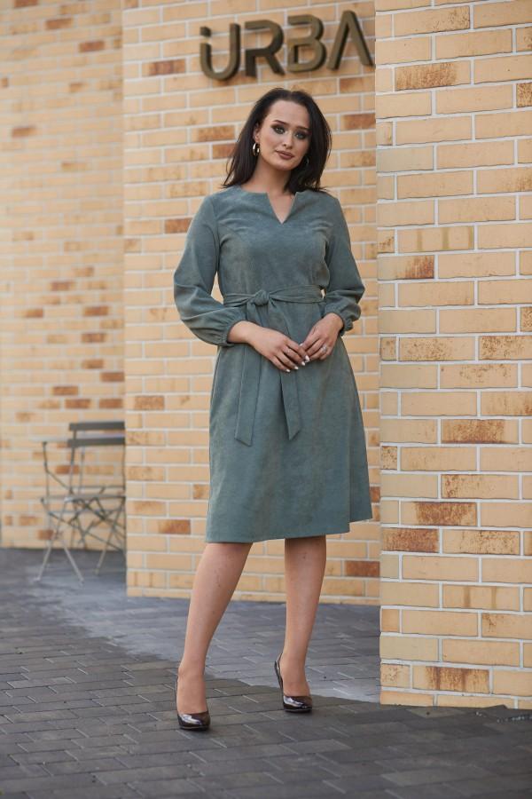 Зимнее стильное платье 2021 большого размера VN48302