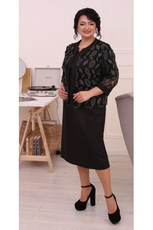 Нарядний костюм двійка LB206901 чорний