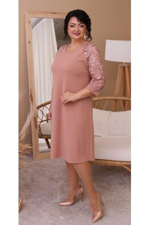 Ніжне плаття великого розміру LB213201