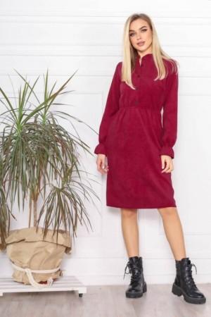 Плаття вельветові осінь-зима 2021 AL88304 марсал