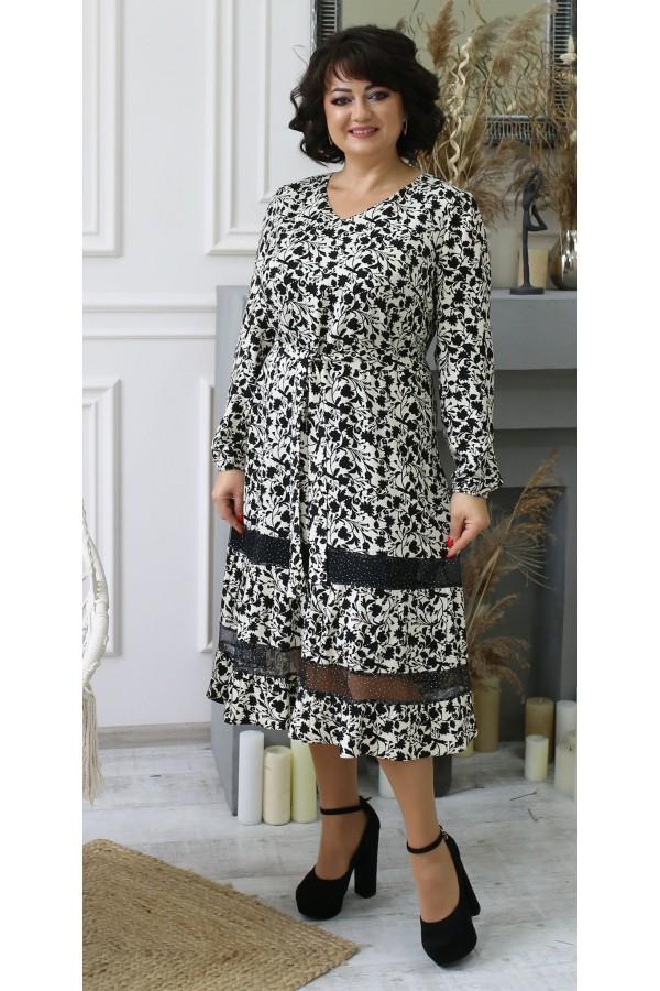 Чарівна сукня весна 2021 міді  LB2103