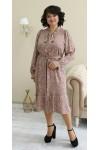 Сукня нарядна  великого розміру LB212003