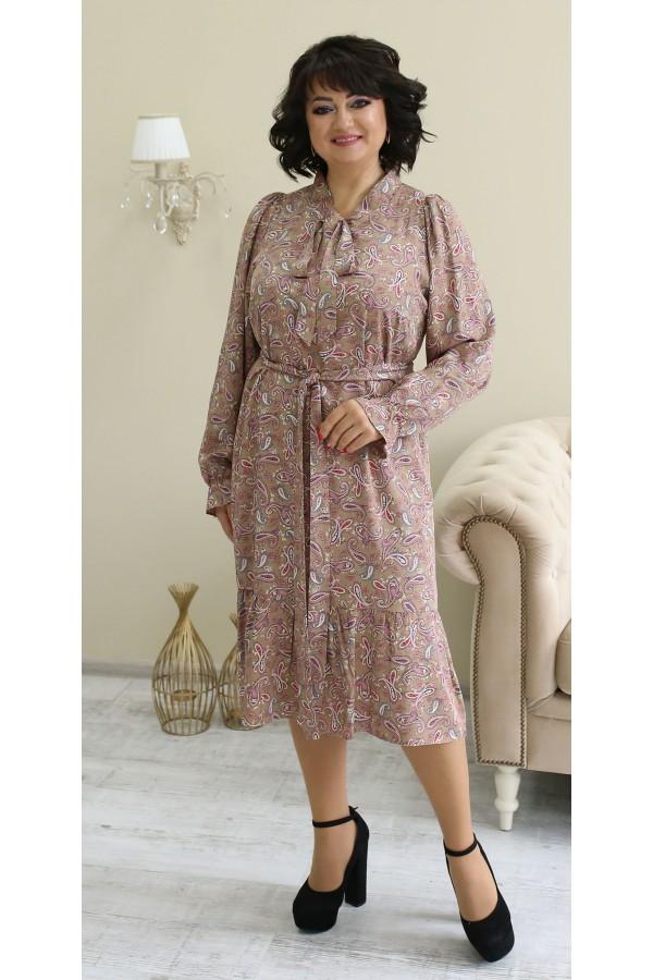 Чарівна сукня весна 2021 міді  LB210801