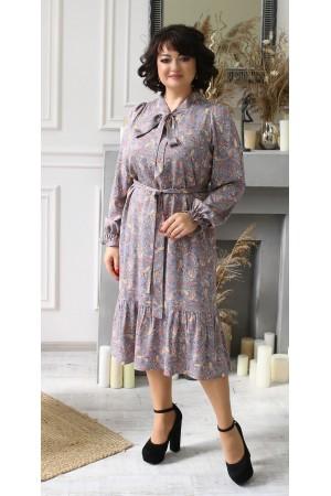 Чарівна сукня весна 2021 міді  LB210802