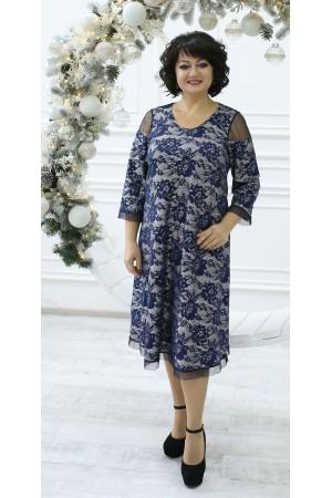 Чудесное платье большого размера LB212002