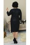 Сукня нарядна  великого розміру  LB212702 чорне