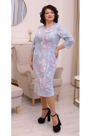 Трендова весняна сукня міді  LB213602