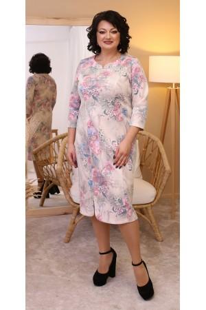Чарівна весняна сукня міді  LB213601