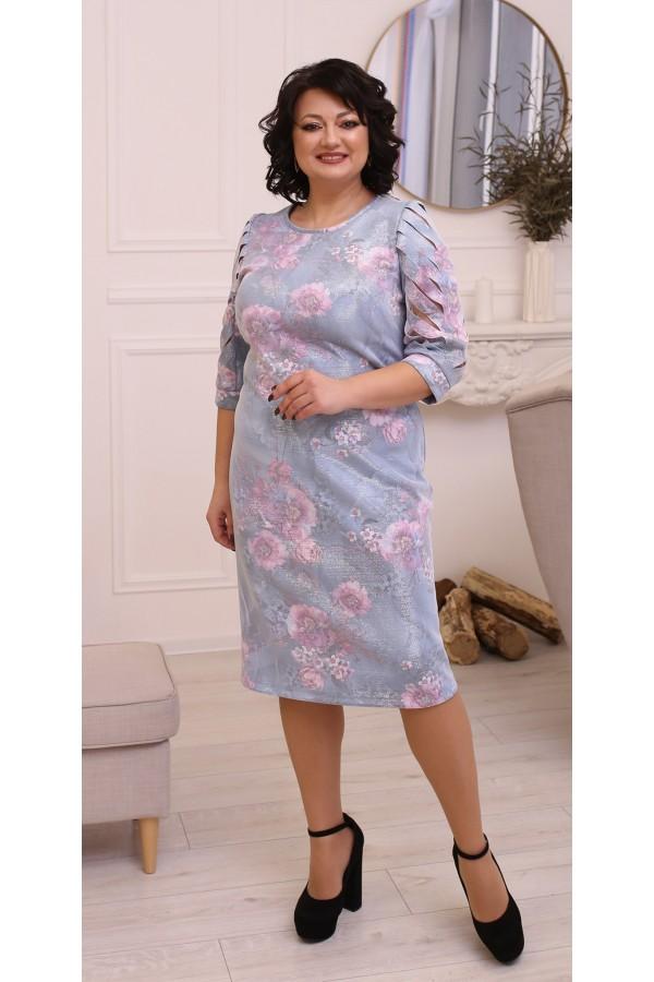 Модна весняна сукня великого розміру LB213701