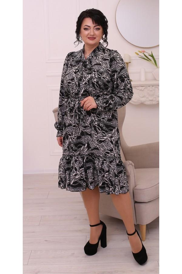 Чудова весняна сукня  LB214902 ланцюжки