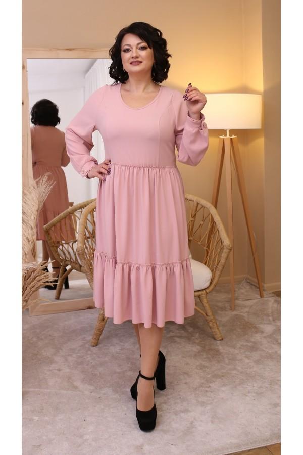 Шовкова сукня вільного крою LB207201