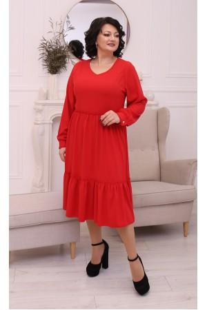 Шовкова сукня вільного крою LB207203