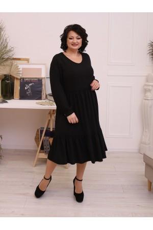 Шовкова сукня вільного крою LB207202