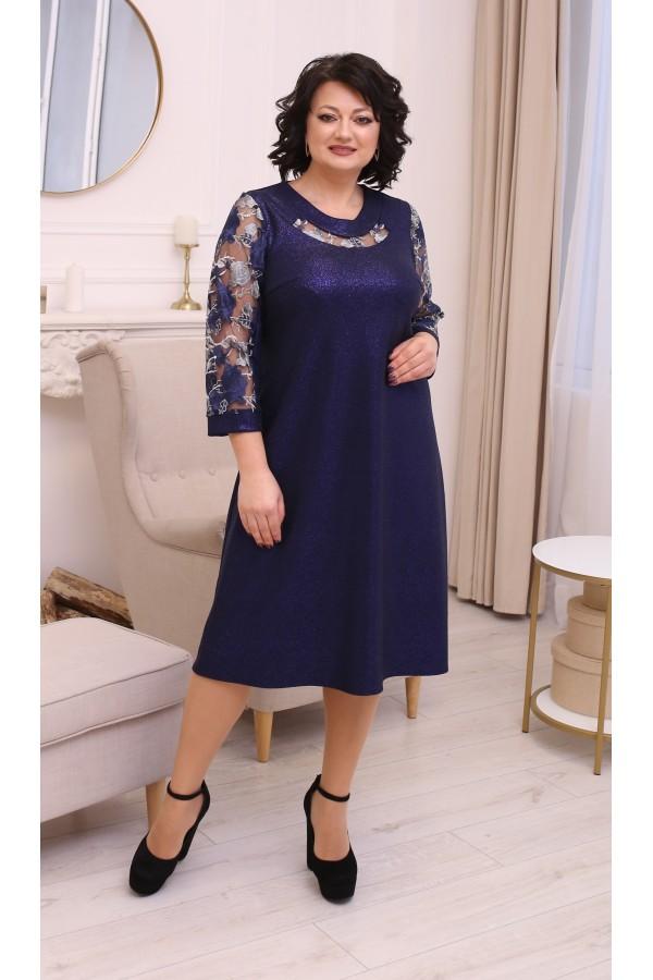 Сукня нарядна  великого розміру LB2126