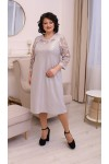 Сукня нарядна  великого розміру LB2133