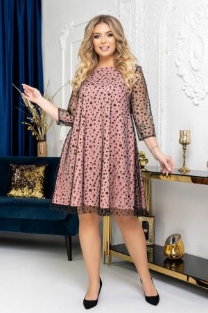 Вишукана  сукня трапеція YM41701