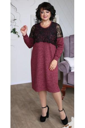 Сукня з ангори великого розміру LB208001