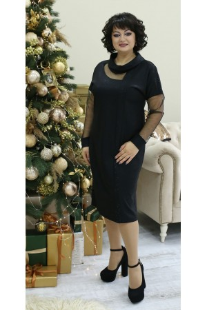 Вишукана  святкова сукня LB210901 чорне