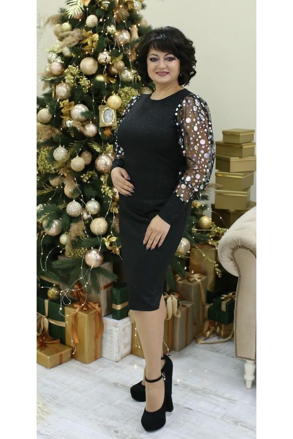 Шикарна сукня LB2107 чорний