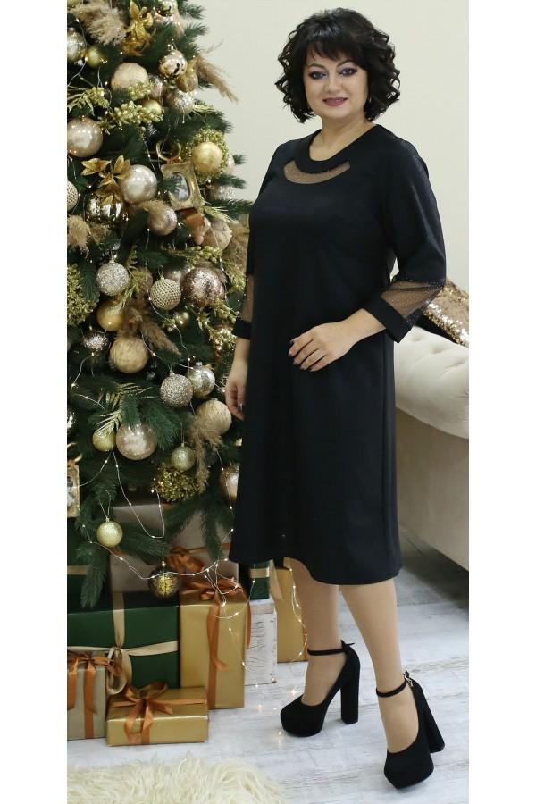 Чудова нарядна сукня LB211302 чорне