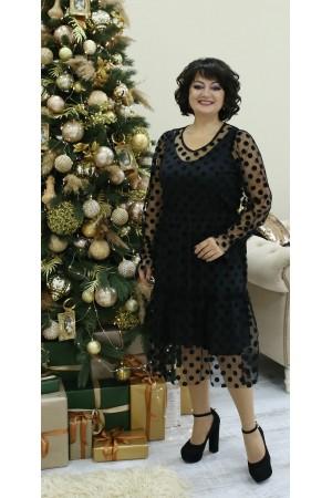 Изумительное нарядное платье LB211401 черный