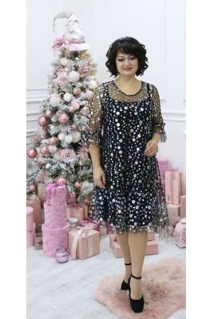 Шикарное нарядное платье LB211501