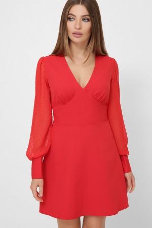 Сукня Деліла д/р GL61767 колір червоний
