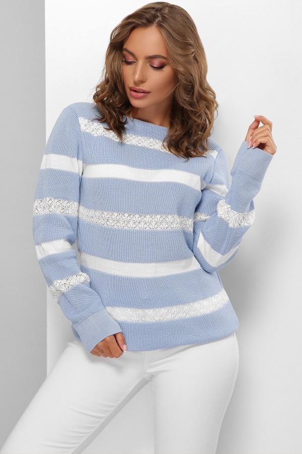 Джемпер 178 GL61771 колір блакитний